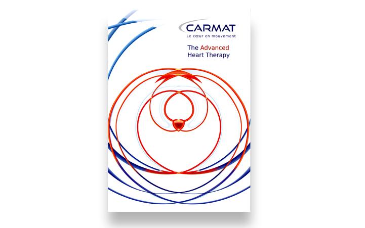 Réalisation de la plaquette instutionelle Carmat